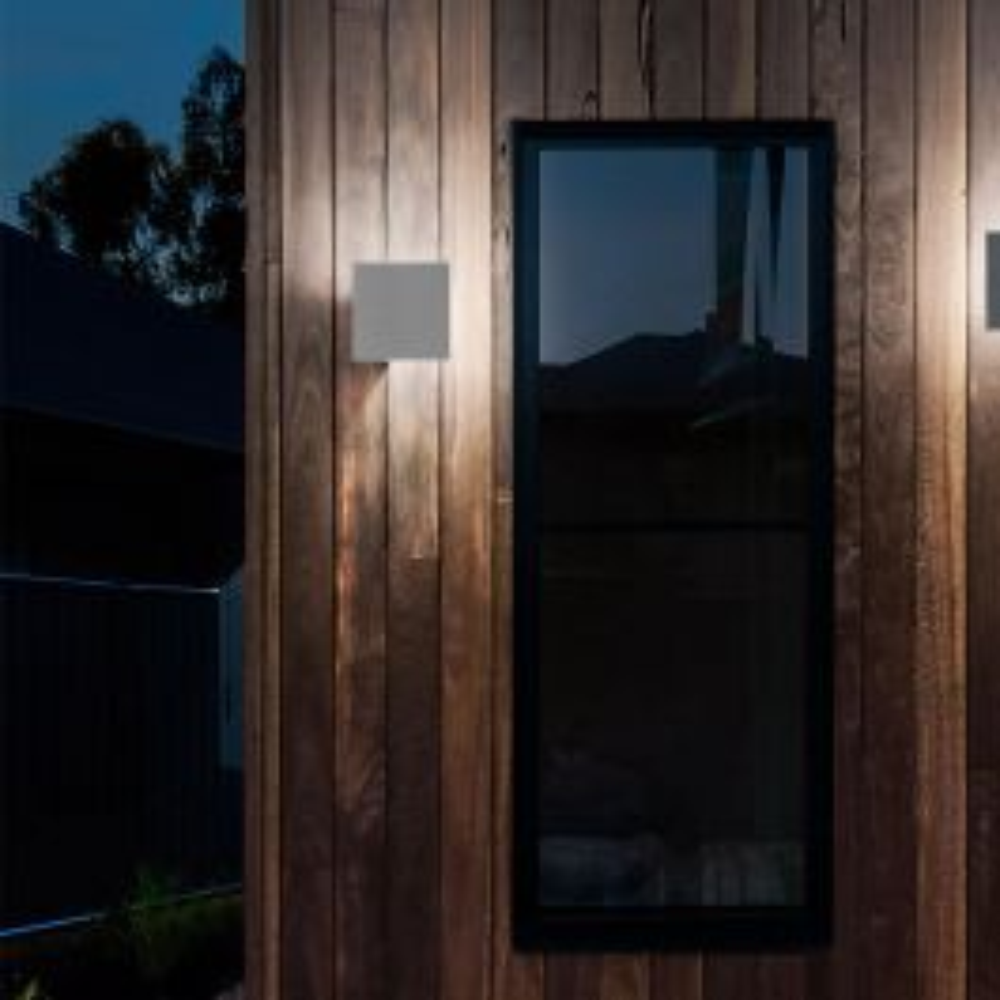 Studio Italia Design Puzzle Outdoor Single Square LED Wandleuchte