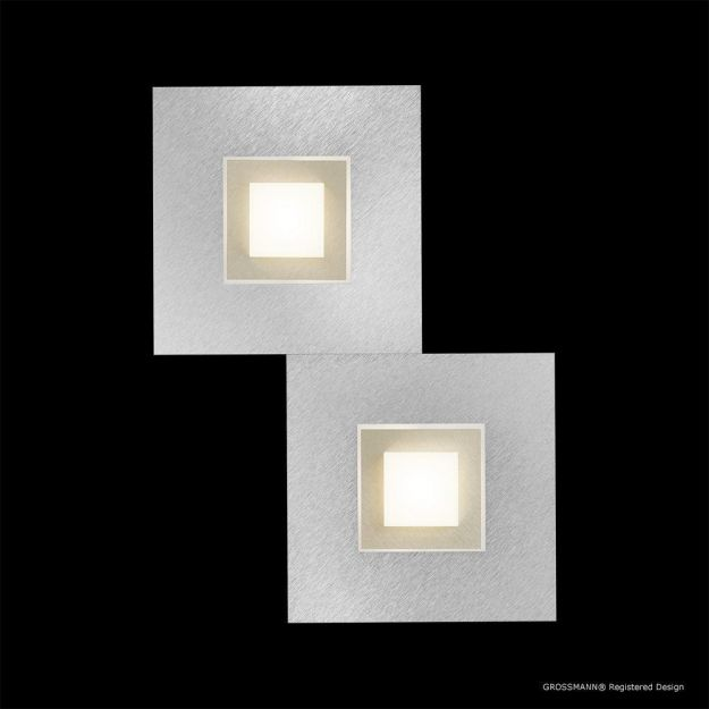 Grossmann Leuchten Karree 72 783 LED Wand Deckenleuchte