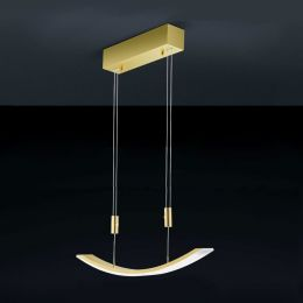 Bankamp Arc LED Pendelleuchte 2054 Messing matt