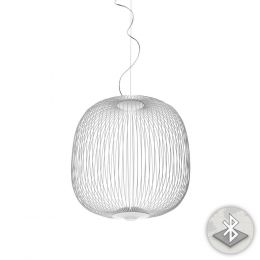Foscarini Spokes 2 MyLight Sospensione LED-Pendelleuchte Weiß
