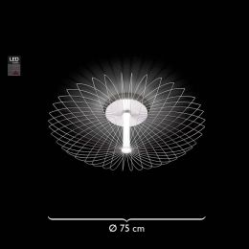 Grossmann Leuchten Faye 70-776-072 LED-Decken- und Wandleuchte Ø 75 cm