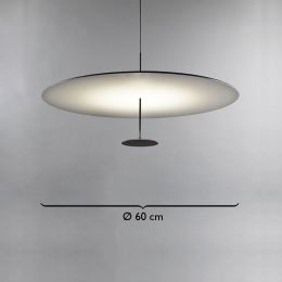 Lumina Dot 130 LED-Pendelleuchte Ø 60cm