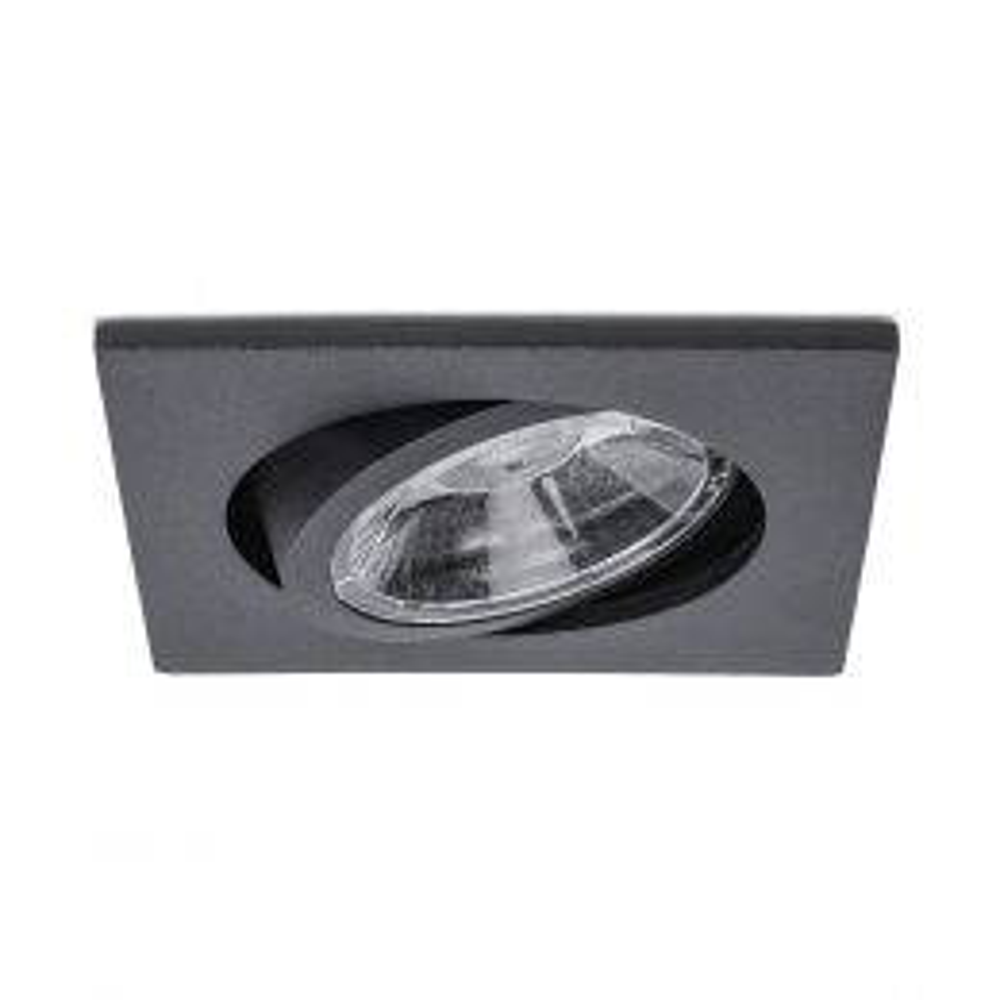 Easylight Plano Square LED-Deckeneinbaustrahler Schwarz