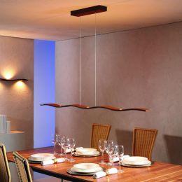 Escale Fluid LED-Pendelleuchte 7-flammig