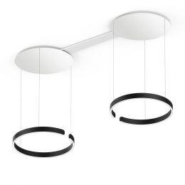 Occhio Mito Sospeso Due 60 LED-Pendelleuchte