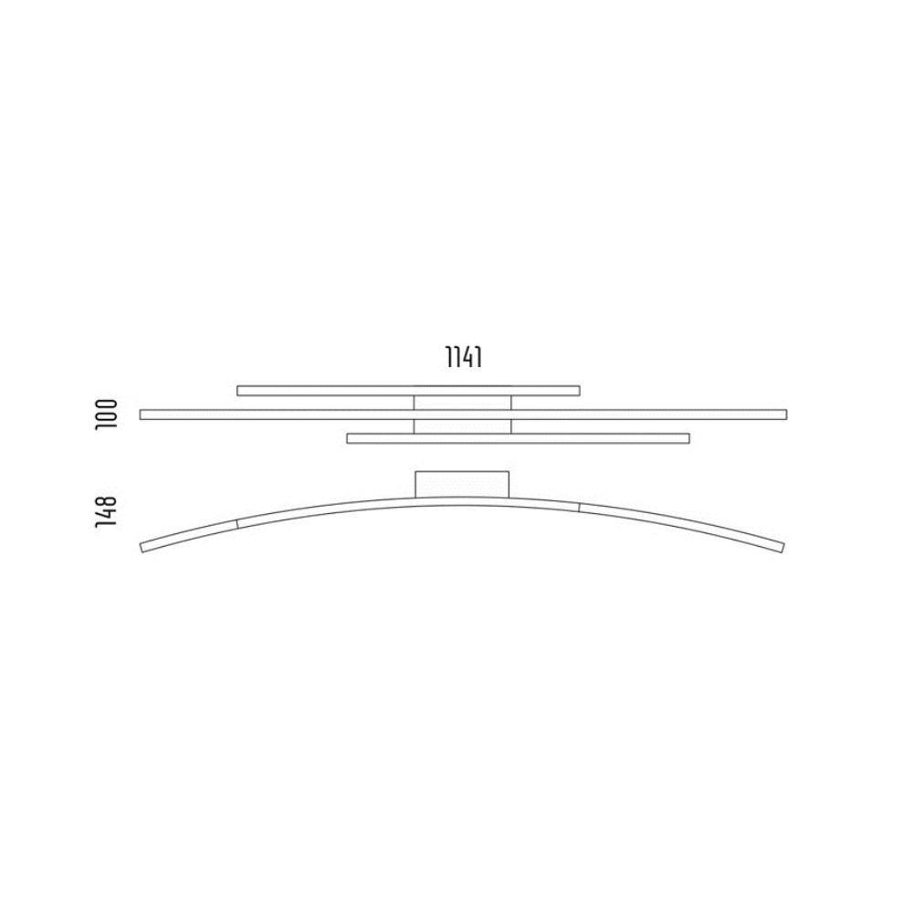grossmann piano led 78 765 072 lampenonline. Black Bedroom Furniture Sets. Home Design Ideas