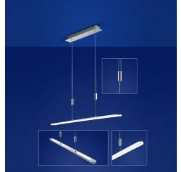 B-Leuchten Genk 20294 LED-Pendelleuchte