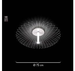 Grossmann Leuchten Faye 70-776-072 LED-Deckenleuchte Ø 75 cm