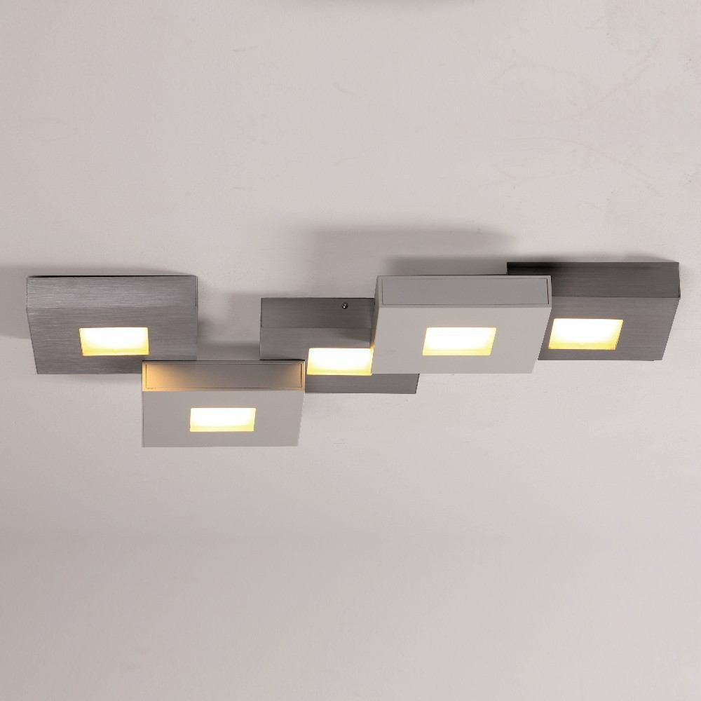 bopp leuchten cubus led deckenleuchte 5 fl g nstig beim online. Black Bedroom Furniture Sets. Home Design Ideas