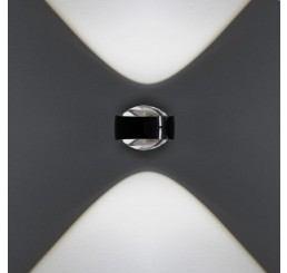 Occhio Sento D Verticale LED, 18 Watt - Linse/Linse - zweiseitiger Lichtaustritt