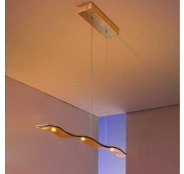 Escale Fluid 5-flammig LED-Pendelleuchte