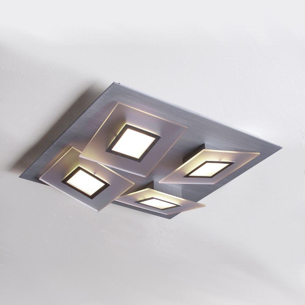 Led Deckenleuchte Quadratisch Asli  Bopp Frame LED Deckenleuchte 4 flg quadr # Led Deckenleuchte Quadratisch